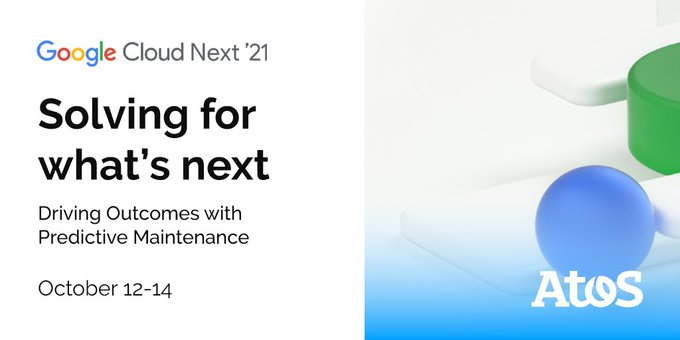 Join us at #GoogleCloudNext to learn how Atos is helping manufacturers connect data and...