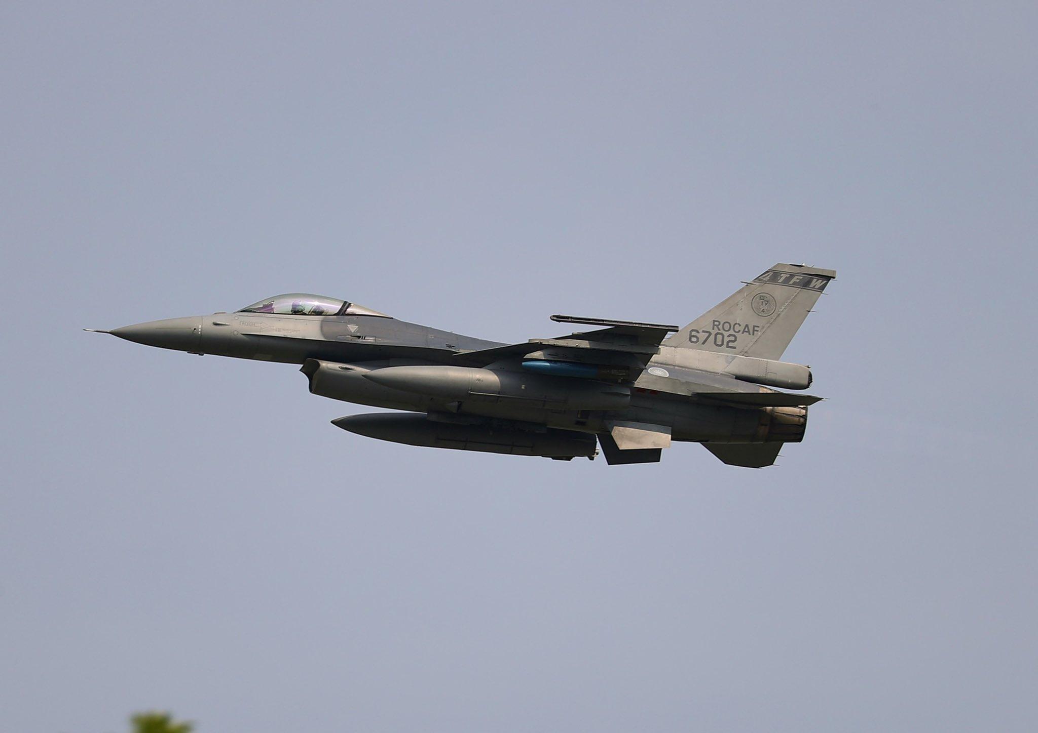 Taiwan's F-16
