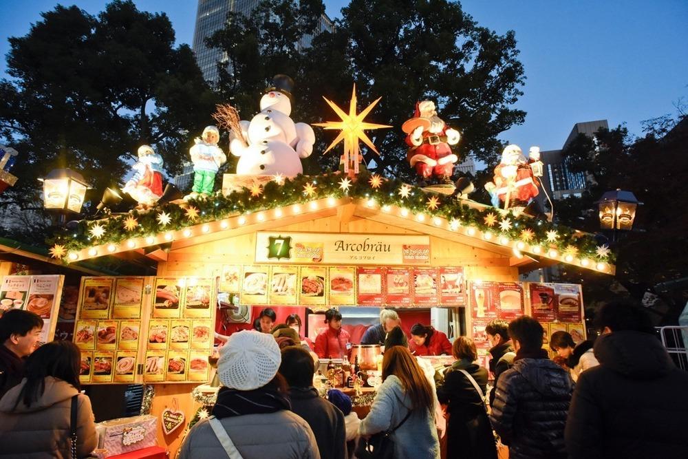 日比谷公園で開催!『東京クリスマスマーケット2021』に大注目!