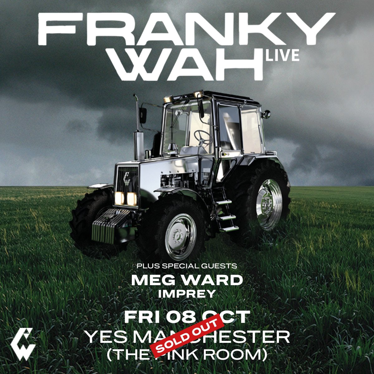 Final few tickets released for @frankywahmusic in The Pink Room tonight. seetickets.com/event/franky-w…