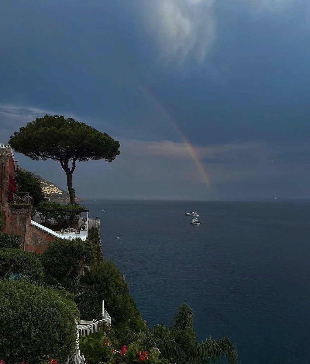 Morning view from Positano In Italy 🇮🇹
