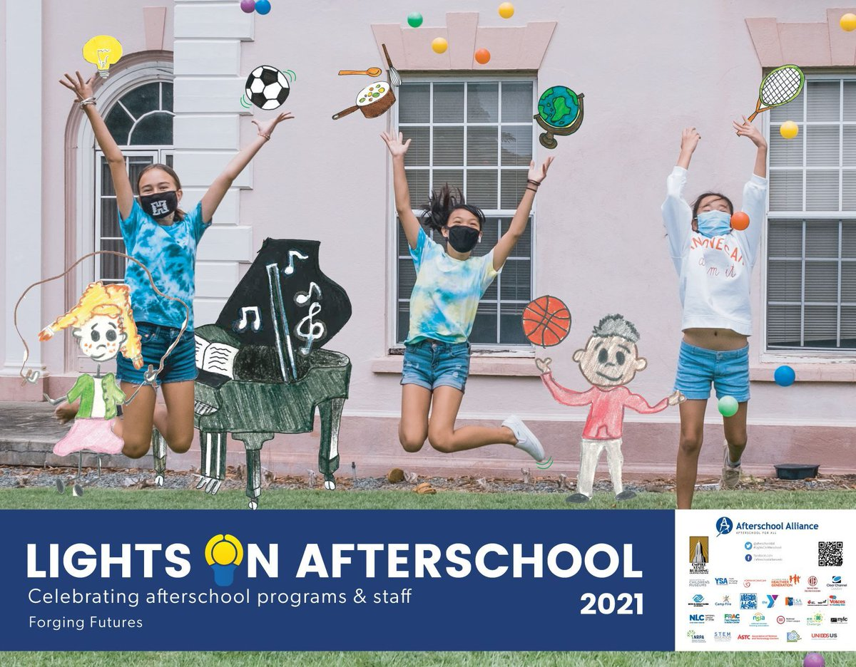 #LightsOnAfterschool