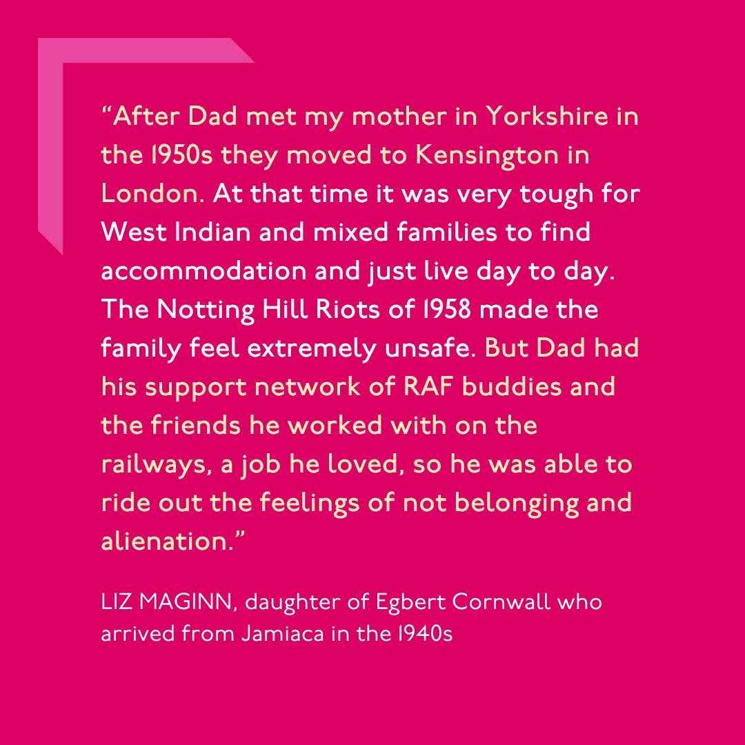 Egbert Cornwall (1922-2011) a Jamaican Home Guard and #RAF serviceman, British Railways signalman until retirement, artist & father. Discover his story bit.ly/3BkQNJ4 & visit us to explore his desk, drawings & letters in our #RoomToBreathe exhibition #BlackHistoryMonth