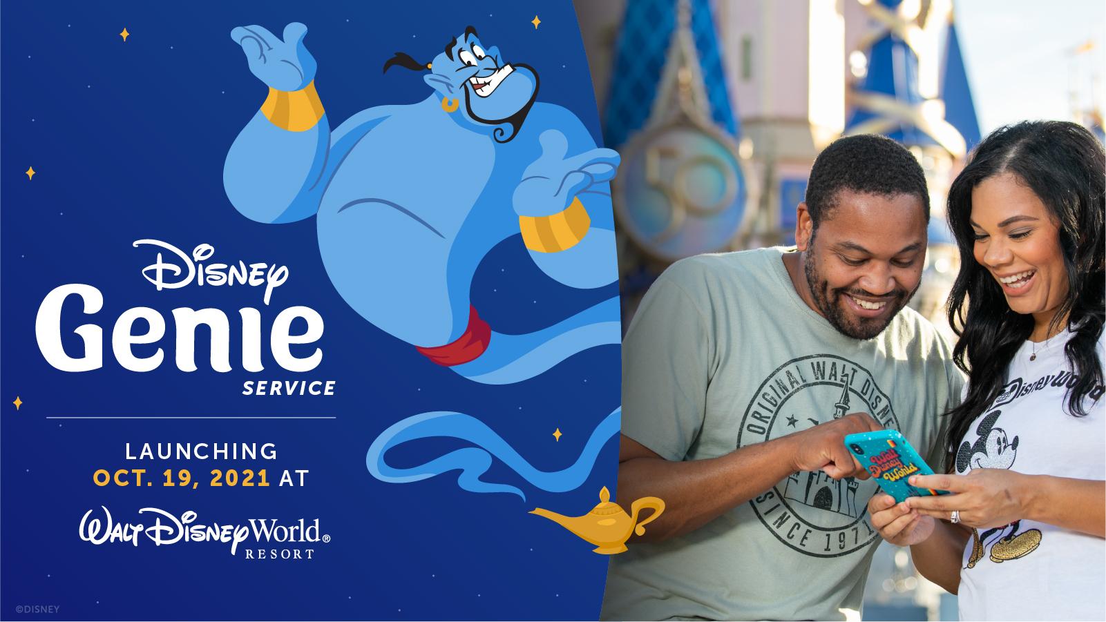 Disney anuncia data de lançamento do Disney Genie e Disney Genie+