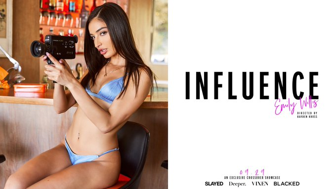 The biggest movie I've shot so far in my career . + some of my fave sex scenes . Have you watched Influence