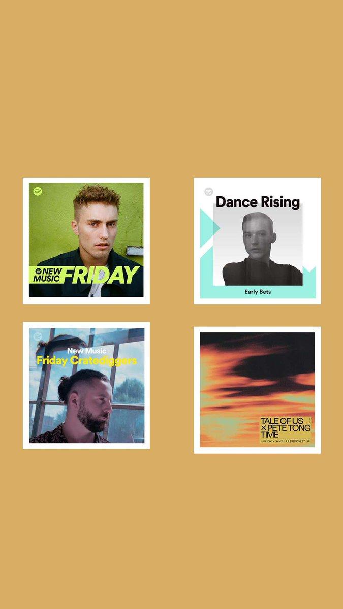 Thanks for the playlist adds @Spotify @SpotifyUK petetong.lnk.to/TOUTime/spotify @petetong #DanceRising #NewMusicFriday #FridayCrateDiggers #PeteTongAndFriends