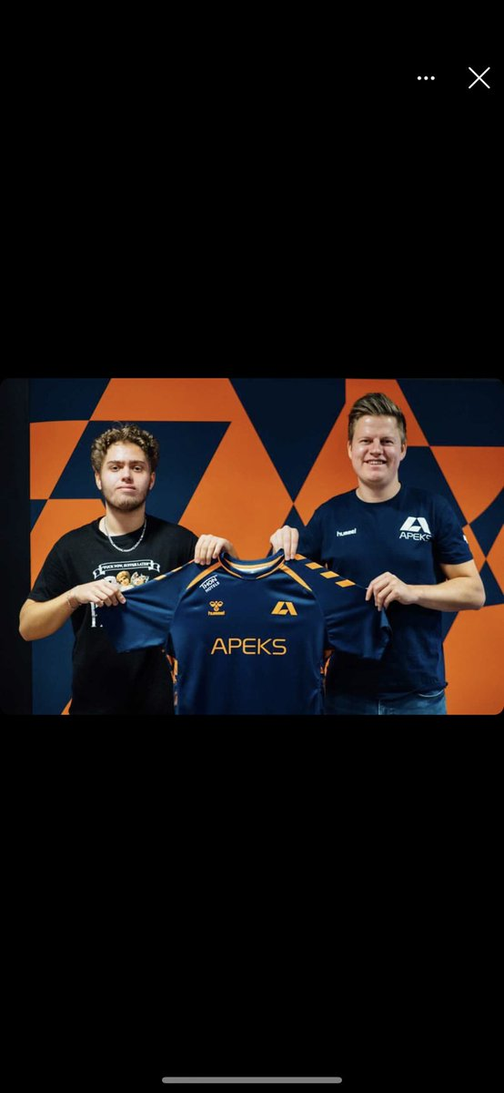Welcome @kongbenjamingg! 🥳  Still a bit mad at you for crushing me and Hyper in the final of eSerien last season, but I'll get over it 😂  Never seen anyone in Norway with such pace in their gameplay btw! 🥵  Exciting times ahead! 🤩