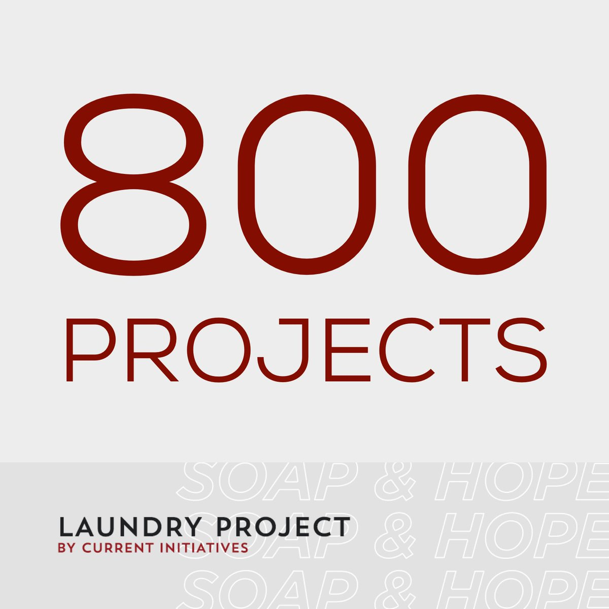 Over the last 13 Years we've hosted 800 Laundry Project events / washed 2.1 MILLION + Pounds of Laundry! 🔥 https://t.co/k9TJCsRd2z