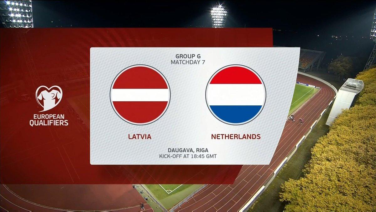 Full match: Latvia vs Netherlands