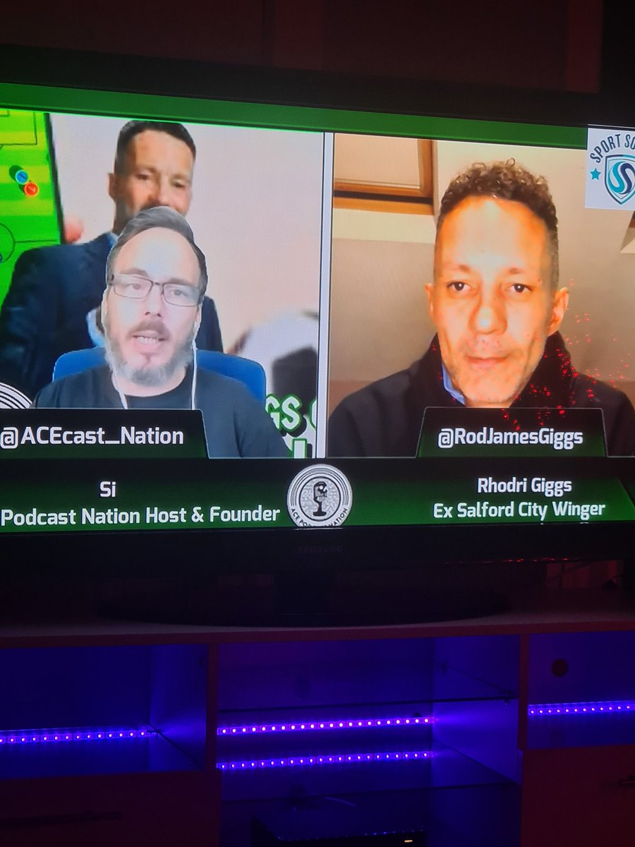 Good podcast tonight lads @Si1927 & @rodjamesgiggs on the @ACEcast_Nation ⚽💯👌🏼