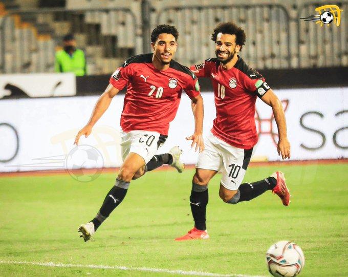 منتخب مصر يفوز على المنتخب الليبي ويخطف صدارة المجموعة في التصفيات