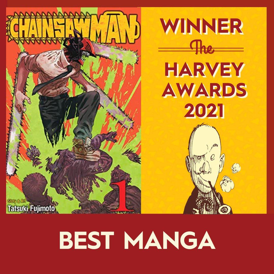 Chainsaw man vainqueur des Harvey Awards 2021