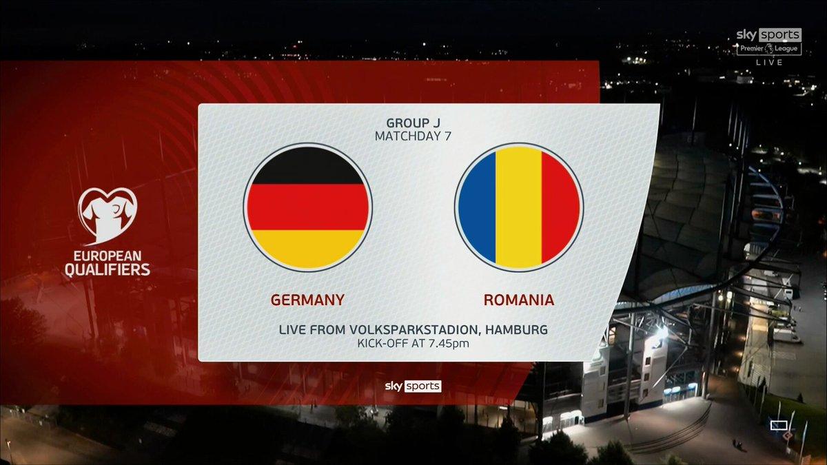 Full match: Germany vs Romania
