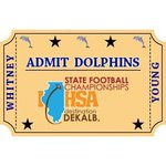 Image for the Tweet beginning: The Dolphins defeat Lincoln Park