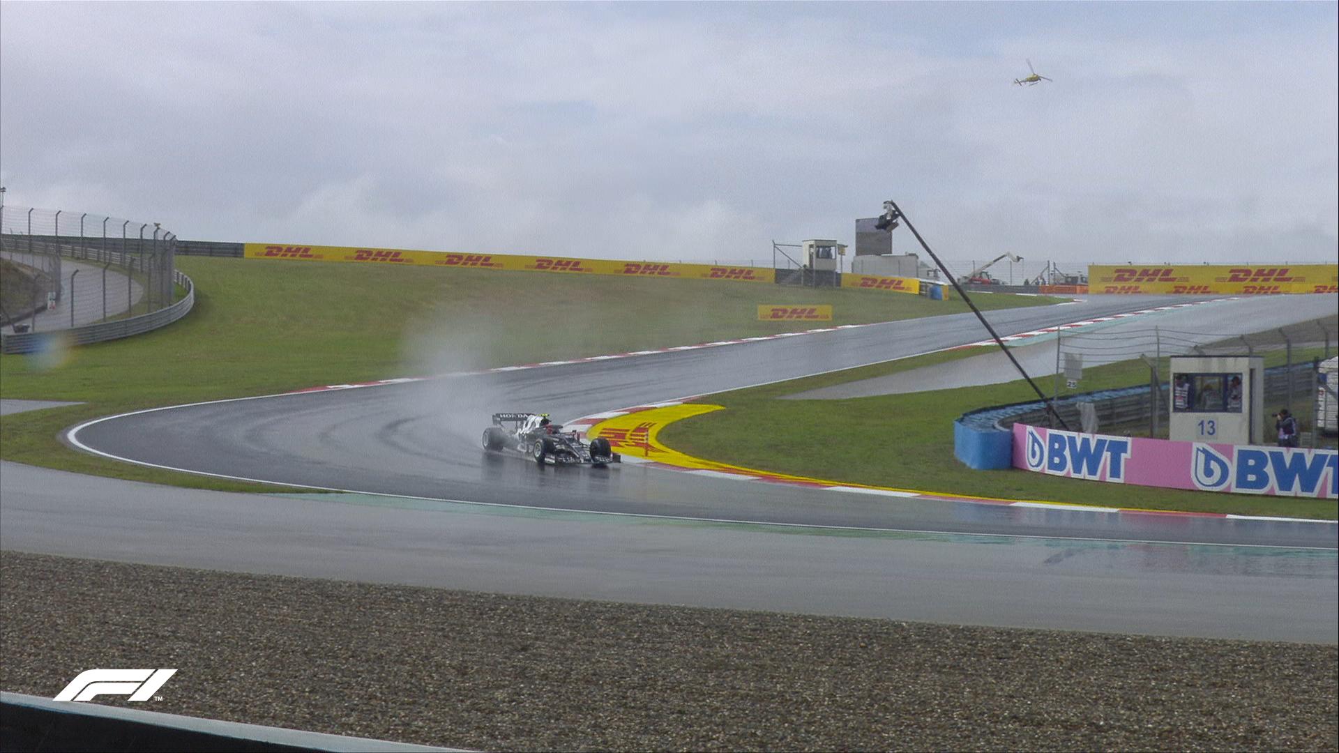 Pierre Gasly FP3 przed Grand Prix Turcji