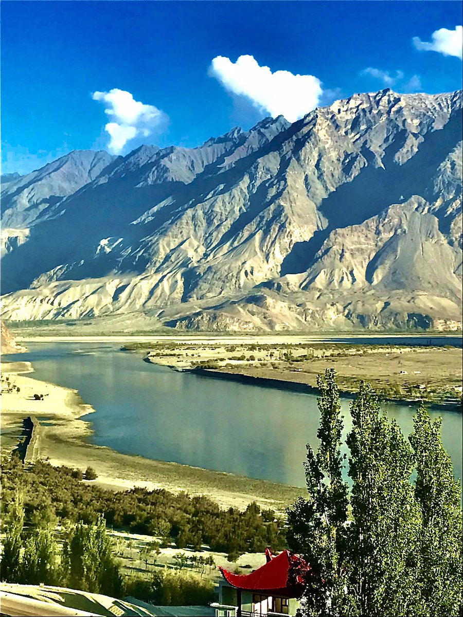 The lifeline of Pakistan - The mighty Indus River. Originating from Himalayas reaches Arabian Sea with a total length of >3000KM.  Supporting livelihoods, providing habitat to diverse flora, fauna & ecosystem services, sediments for Indus Delta & freshwater for mangroves