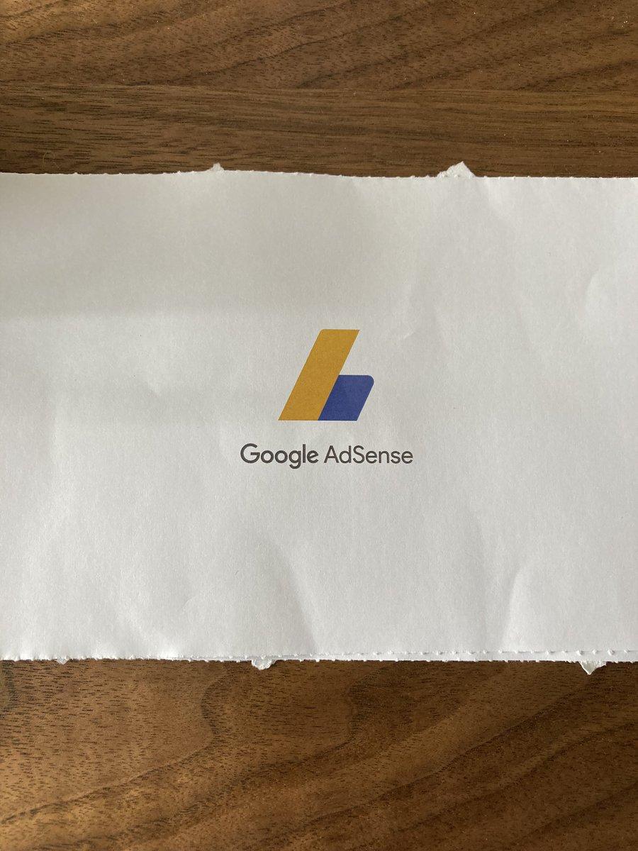 【収益公開】Googleアドセンスからお手紙届きました✨ ブログに続き、YouTubeでも収益化できました。月3万円ペースなので思ったよりも稼いでくれそう☺️ 1再生0.2円くらいでびっくり! 0.05円くらいかと思ってました。  #Googleアドセンス  #YouTube