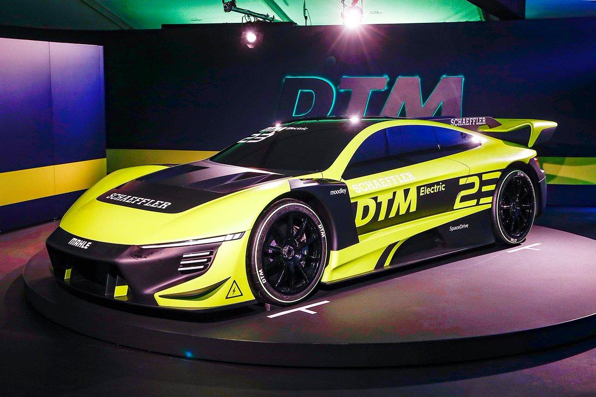 DTMドイツ・ツーリングカー選手権、2023年導入を目指す電動レーシングカー『DTMエレクトリック』の新たなデザインモデルを公開