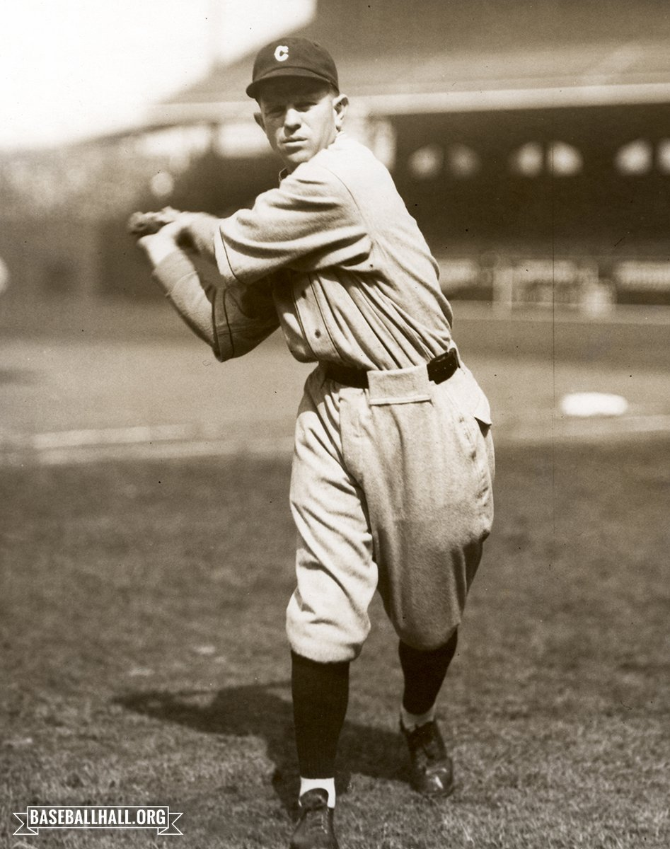 As the years go by, Joe Sewell's stats only become more remarkable. The former @Indians shortstop, born on this day in 1898, struck out only 114 times (!!) over his 14 seasons – and recorded only four seasons with double-digit strikeout totals.