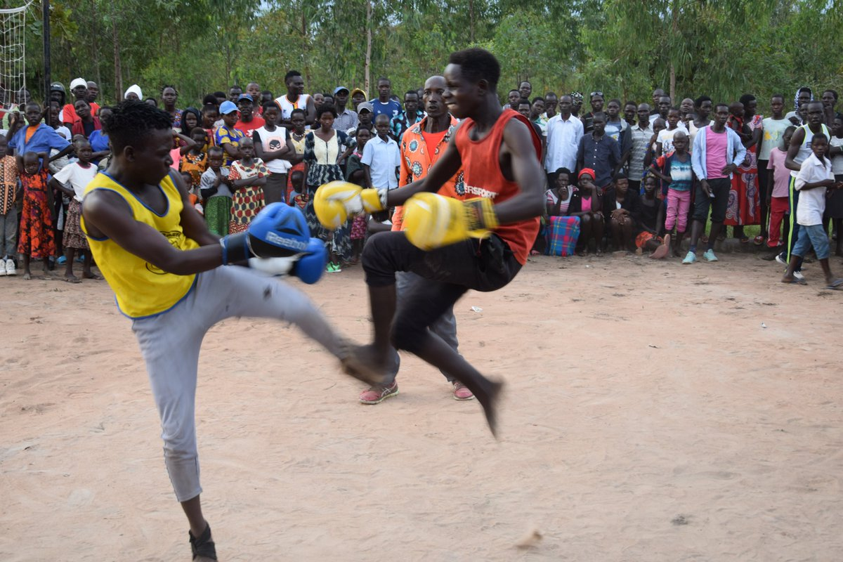 Then the youth of @OkereCity #BoxingClub did what they do best - #boxing and #kickboxing