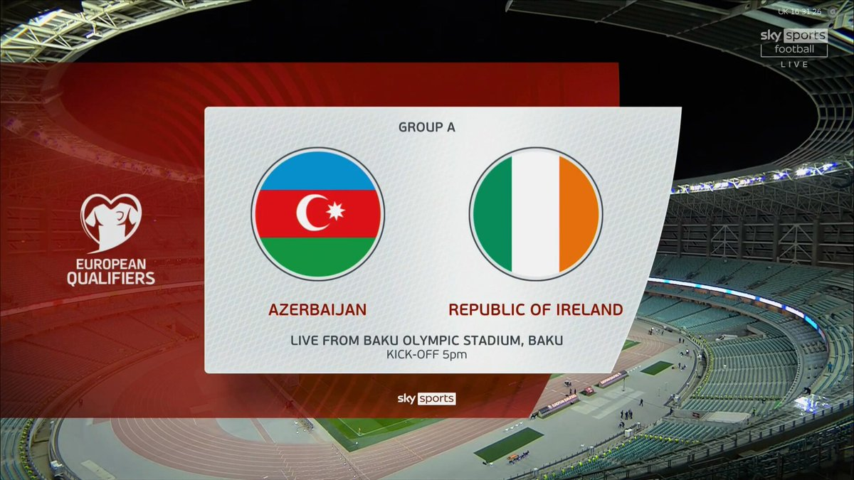 Full match: Azerbaijan vs Republic of Ireland