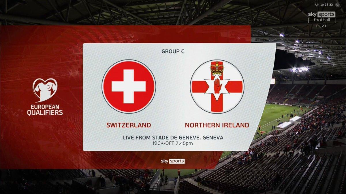 Full match: Switzerland vs Northern Ireland