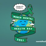 Image for the Tweet beginning: Today is #WorldMentalHealthDay. As a