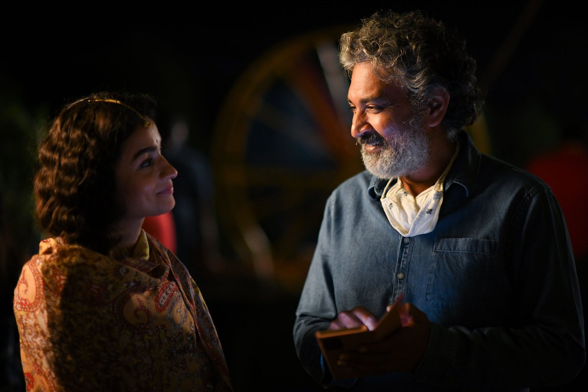 Happy birthday to the master storyteller! So grateful and honoured to have been directed by you. Wishing you all the love and happiness in the world❤️ @ssrajamouli