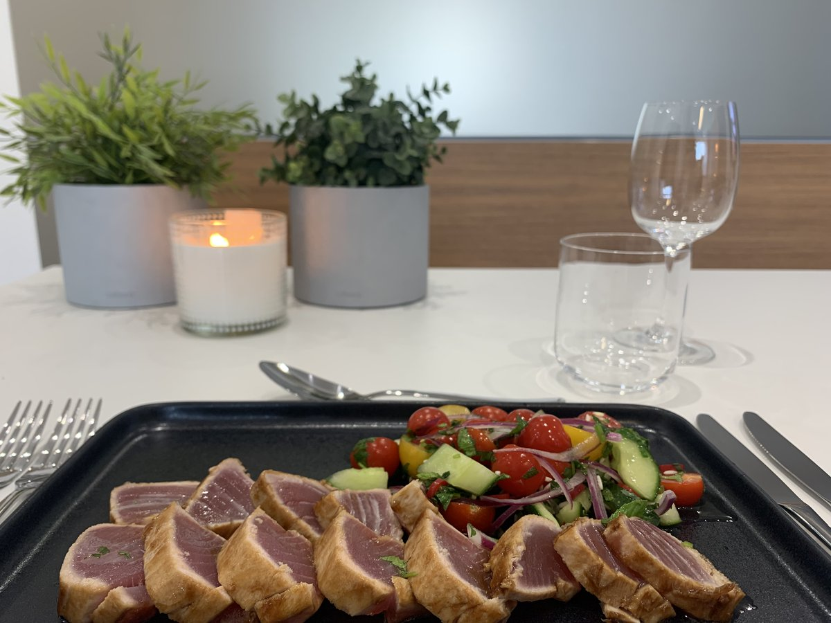 We have teamed up with Tristan from the fabulous Truffle Events to show you fun easy ways to make the most of your @BORAGmbH Professional. First up is a fresh and healthy Seared Tuna with Sweet Soy & Crisp Salad. Watch Tristan in action here! youtu.be/bGIYkyqfw8Y #borasystems