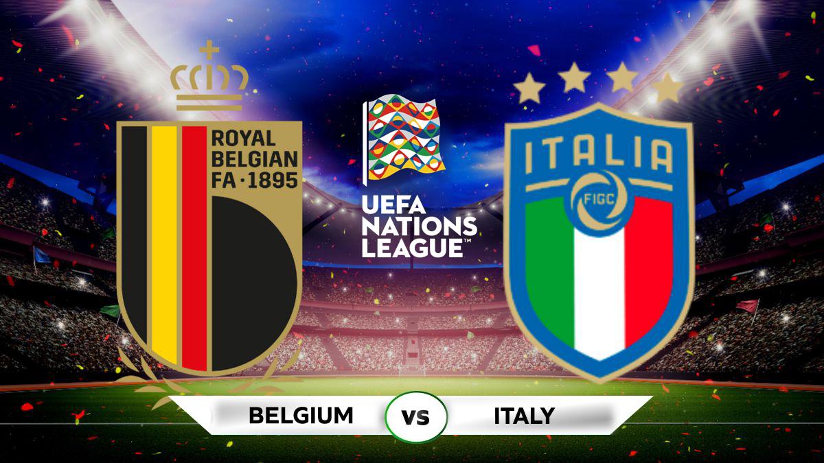 Italy vs Belgium Full Match & Highlights 10 October 2021