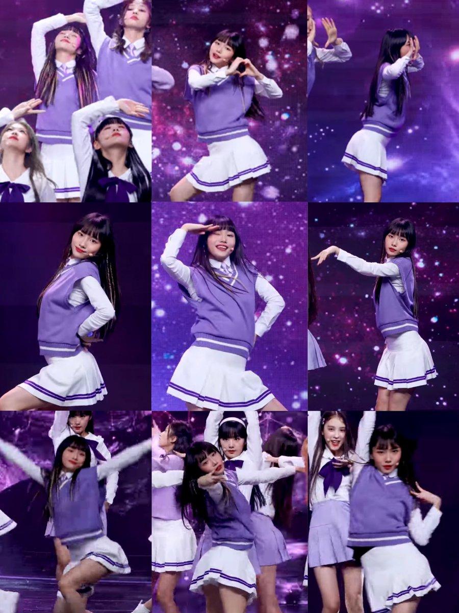 指先、腰の入れ方、首の角度等、細部まで拘って踊っている事が分かるヨンウンちゃんのチッケムスクショまとめ🦊 #ソヨンウン #seoyoungeun #서영은 #ガルプラ #GIRLSPLANET999