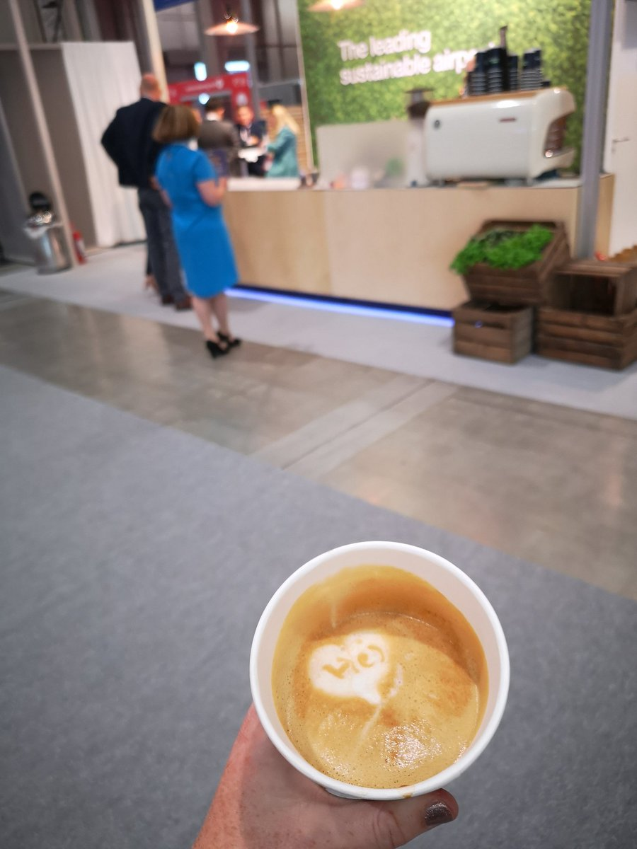 RT @HollyIAR: Great coffee artwork from @Swedavia at their @routesonline stand in Milan. #Routes2021 https://t.co/q7f1wT8msr