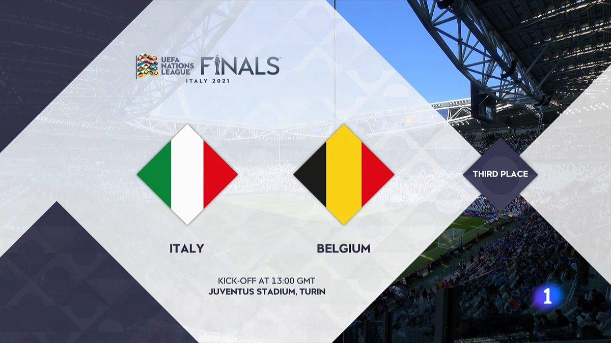Full match: Italy vs Belgium