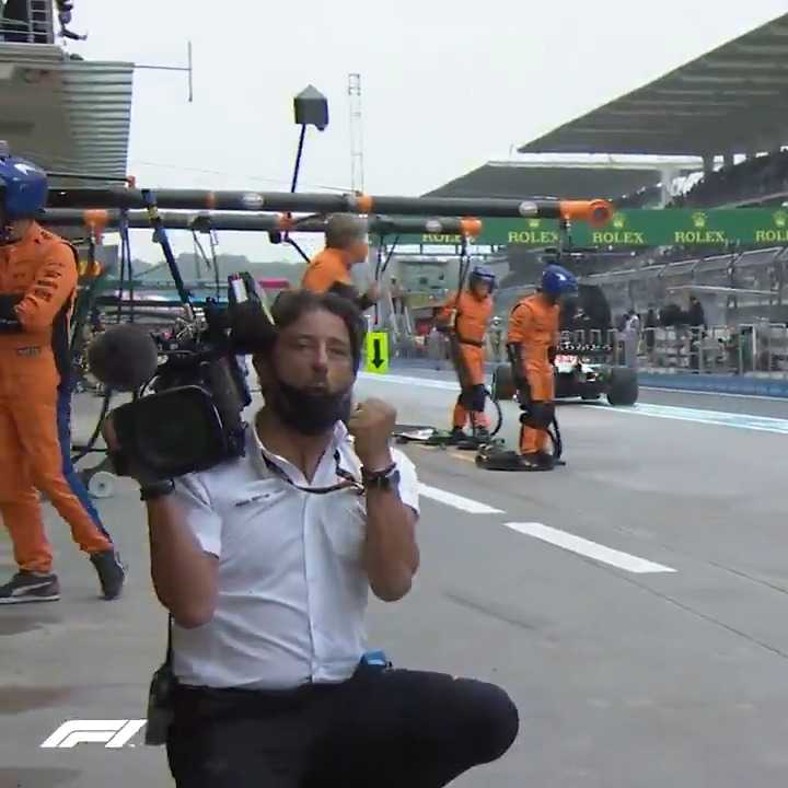 You know it's a good stop when even the cameraman is impressed 😲🔥  https://t.co/FeS7MPdgBB