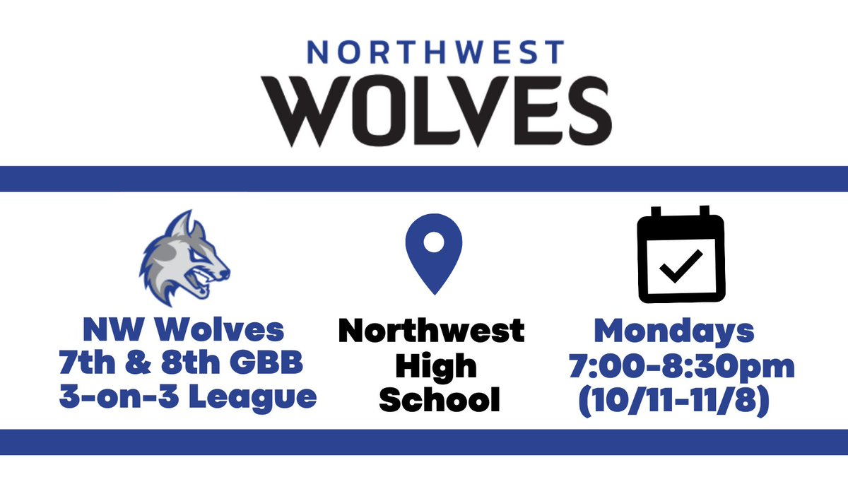 Wolves, we're looking forward to seeing you tonight! Walk-up registrations are welcome! 🐺🏀