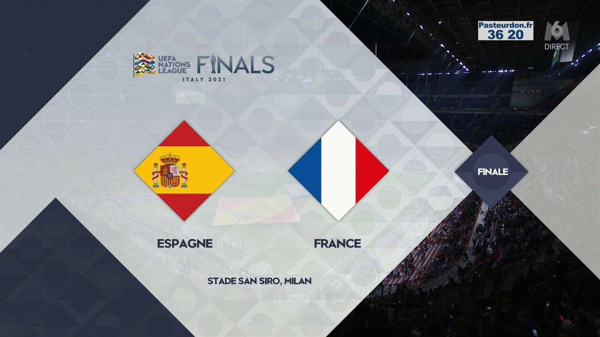 Full match: Spain vs France