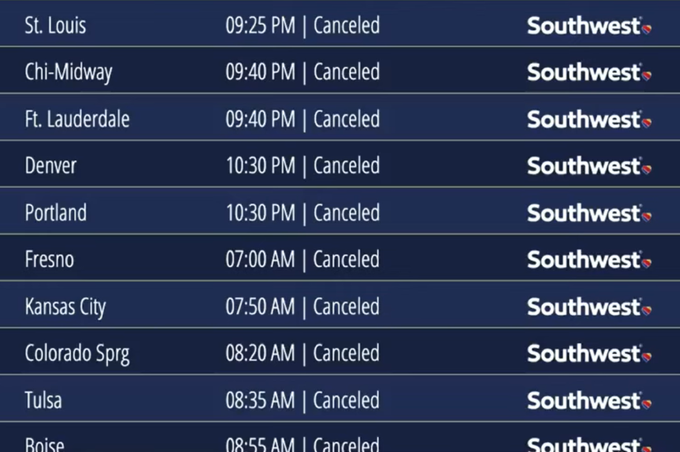 UPDATE: 1800 Flights Canceled - Sickout? Southwest Airlines Cancels 1,000 More Flights as Disruptions Increase FBXg6t9WQAQ4bKJ?format=png&name=small