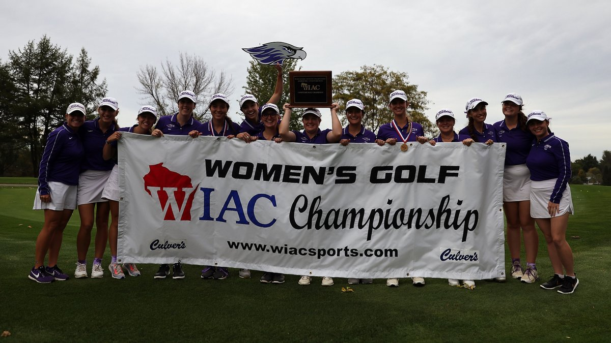 The Warhawks have now won five straight WIAC championships and seven in the program's history. (Photo by Steve Frommell)