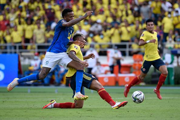 Colombia vs Brasil 0-0 Jornada 5 Eliminatorias CONMEBOL 2022