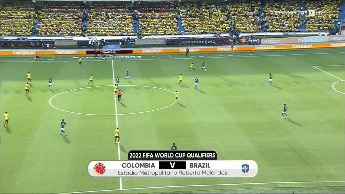 Full match: Colombia vs Brazil