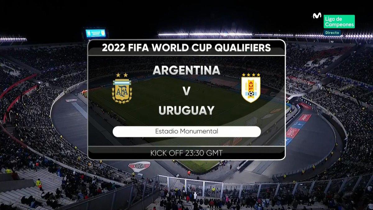 Full match: Argentina vs Uruguay