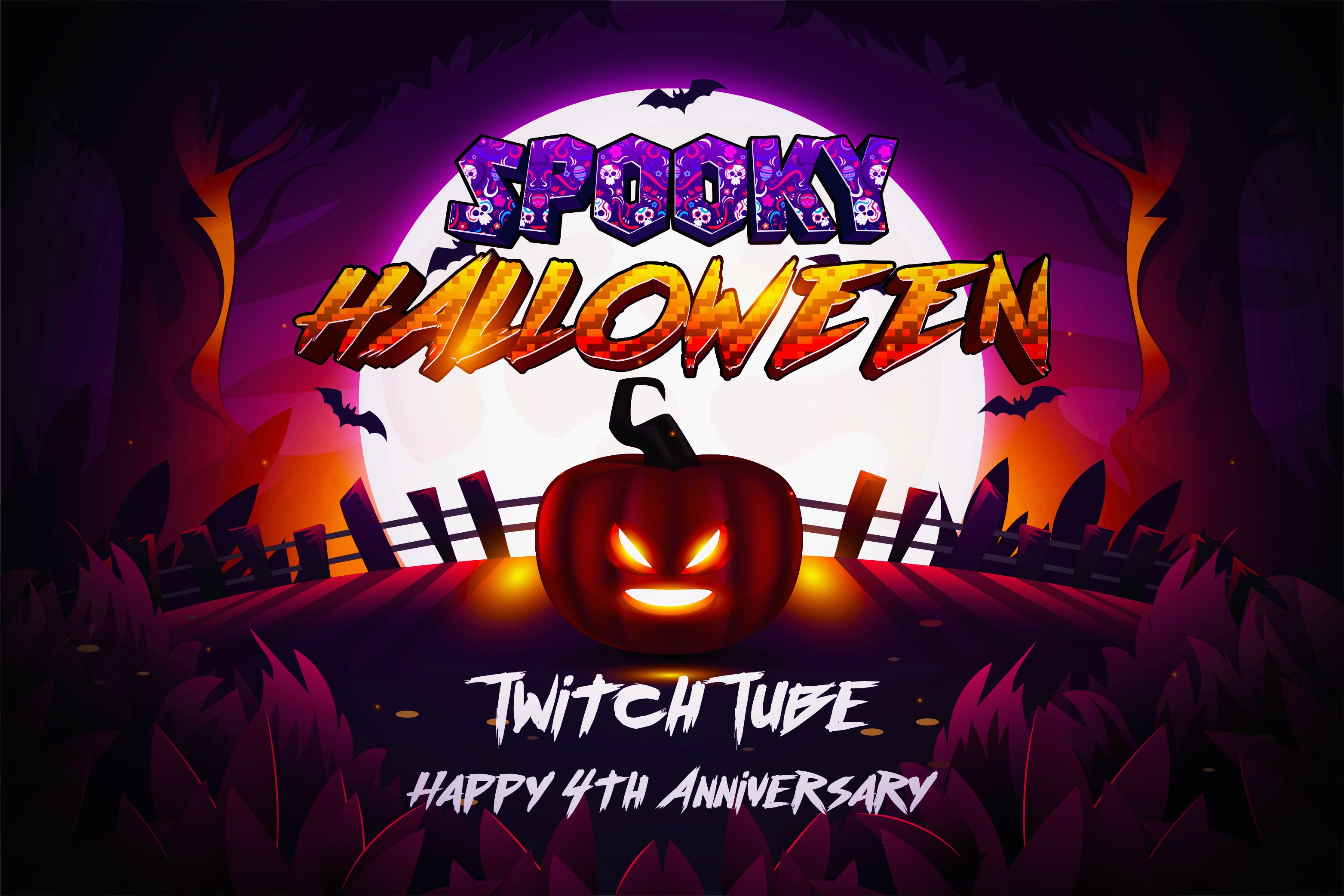 Come join us for our 4th anniversary and enjoy our Halloween update, where we will be playing, laughing and doing giveaways throughout the month of October!