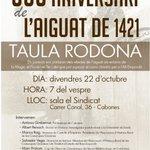 Image for the Tweet beginning: El 22 d'octubre al Sindicat