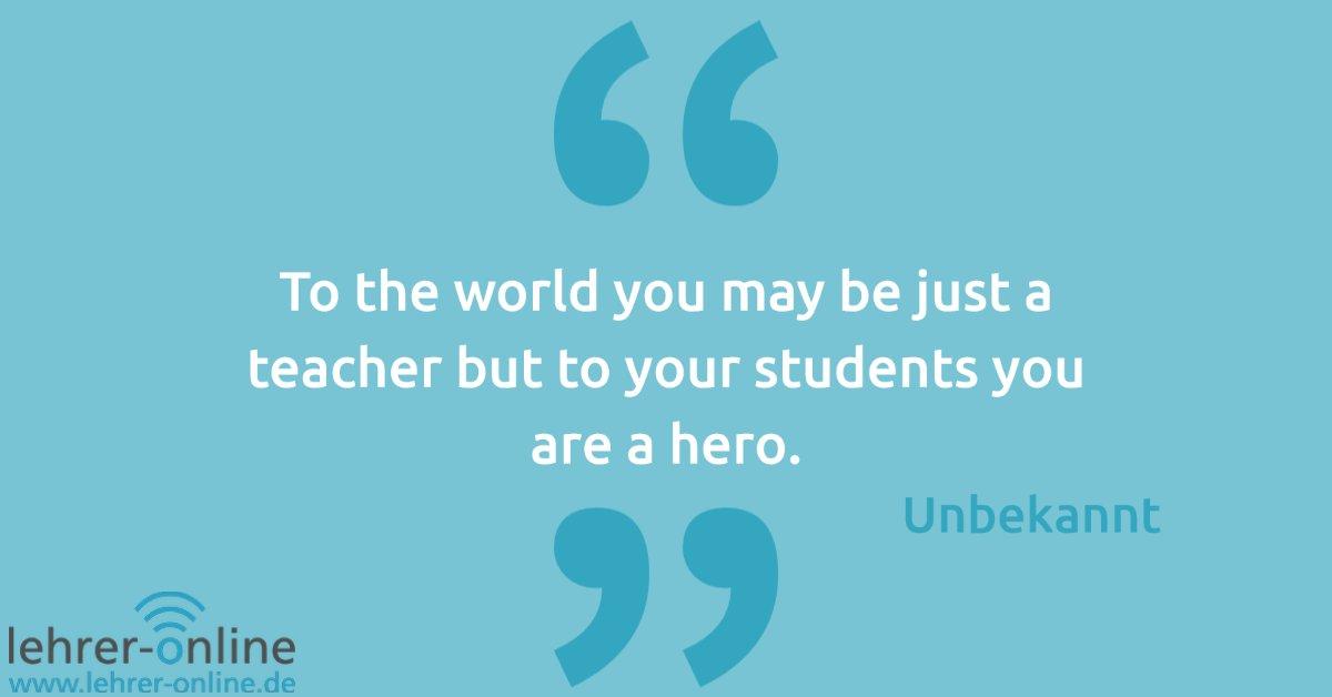 Dieses Zitat zaubert Lehrkräften ein Lächeln ins Gesicht, oder? 😇 #ZitatderWoche #lehrerspruch #lehrerzitat https://t.co/kvyskHpkJG
