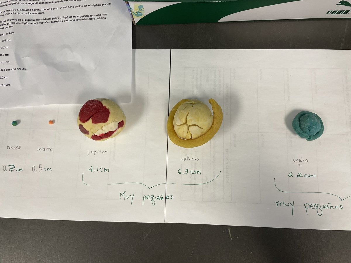 Model of the planets in the solar system. Students presented information on the planets in class. <a target='_blank' href='http://twitter.com/APSGifted'>@APSGifted</a> <a target='_blank' href='https://t.co/ic7lGhTswH'>https://t.co/ic7lGhTswH</a>