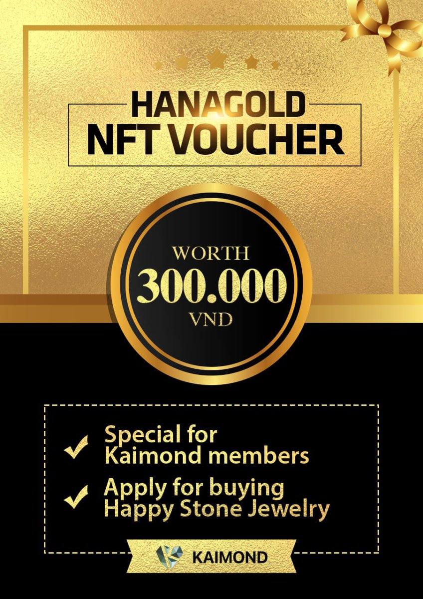 🎉 Because of the problem of confirming the Top 1000 Kaimond wallet. We would like to inform you to move the deadline for Claim NFT Voucher 300K to 11 am (GMT+7) October 19, 2021 . 📍Conditions: Top 1000 users Only For #Kaimond members who submitted #DKai to buy #IDO