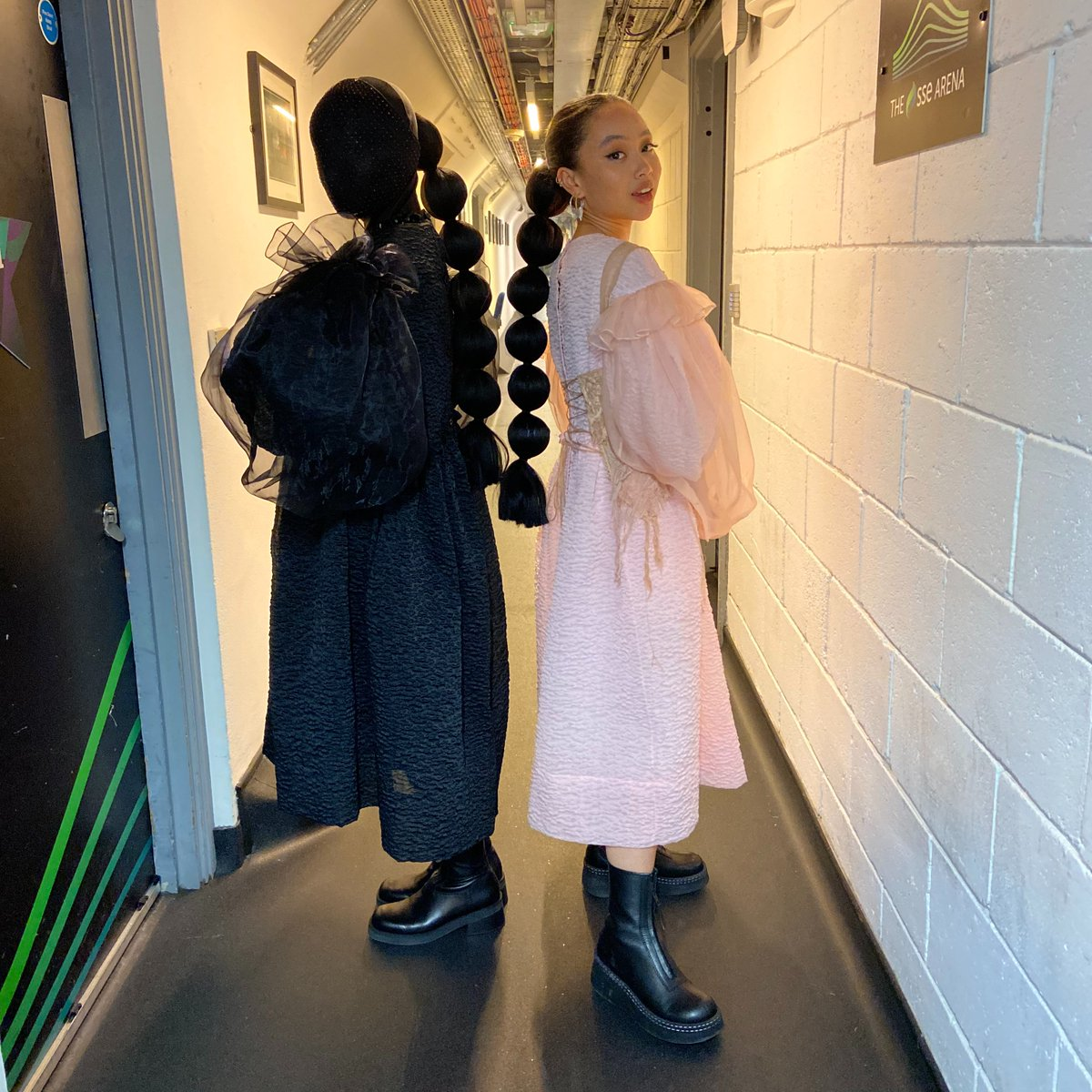 Me and my shadow had a lovely time at Wembley on Saturday for @BBCR1 out out! Watch here youtu.be/6Ou0kLid7n8