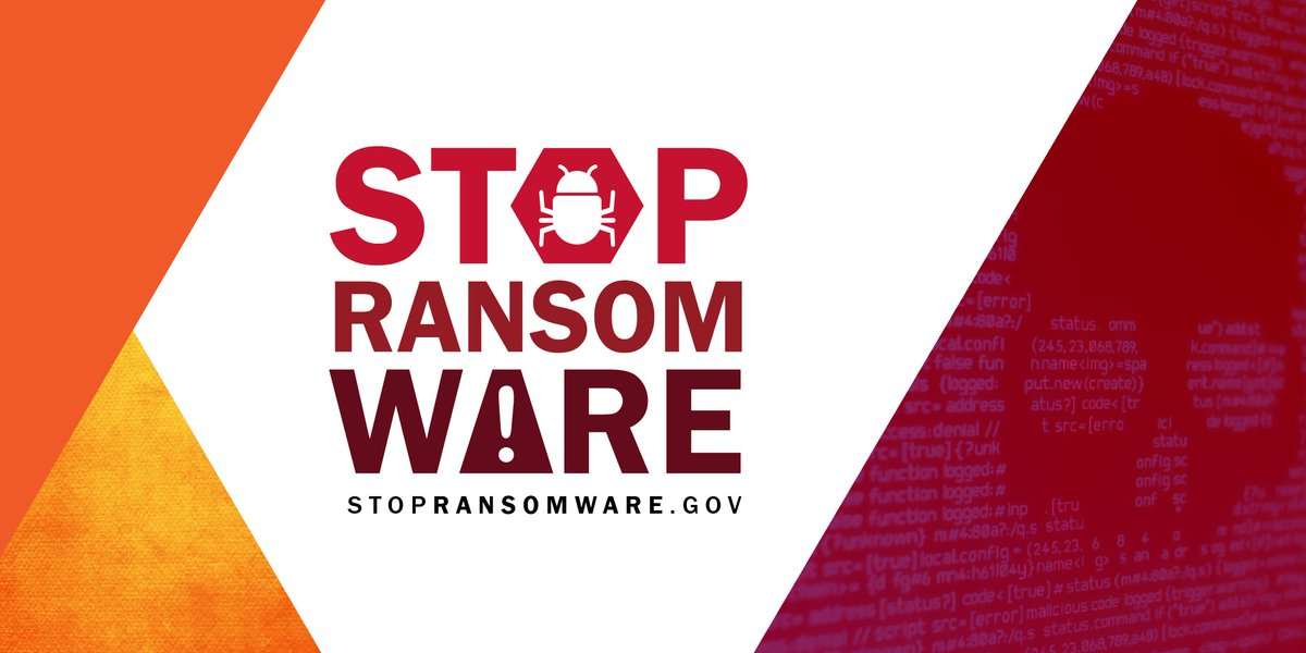 This #Cybersecurity Awareness Month, visit stopransomware.gov, the U.S. government's one-stop hub for resources to help individuals and businesses before and after #cyberattacks. Browse the hub to see up-to-date information about ransomware and to report incidents.