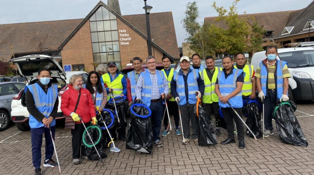 Wiltshire's Nepalese Association joined by MP to conduct Swindon litter picking swindonlink.com/news/nepalese-…