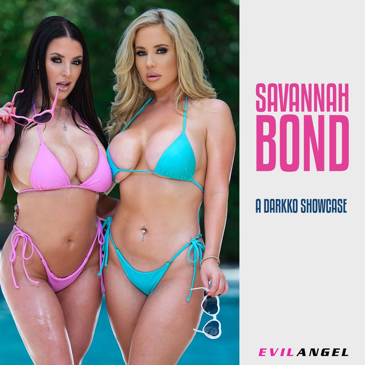 Anal threesome with @savannahbondxxx and @ANGELAWHITE 😈💦 watch it here 🔗evilan.gl/3CYtR2E 🎥@jonnidarkko 🍆@JaxSlayherTV